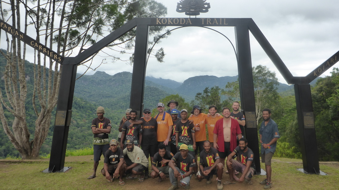 Kokoda Expedition - Sep 2015 - Justin Kibell