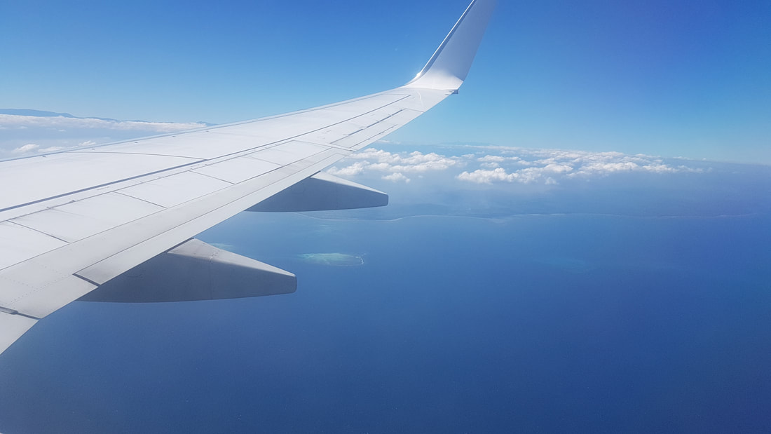 Flying to PNG