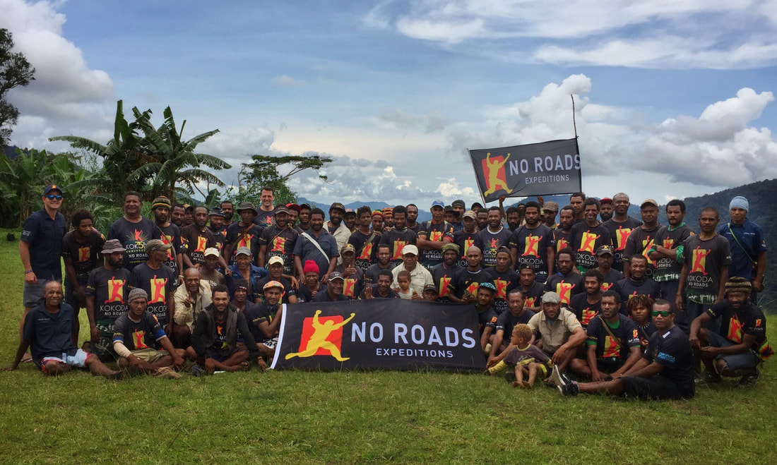 Kokoda Track Porters with No Roads Expeditions