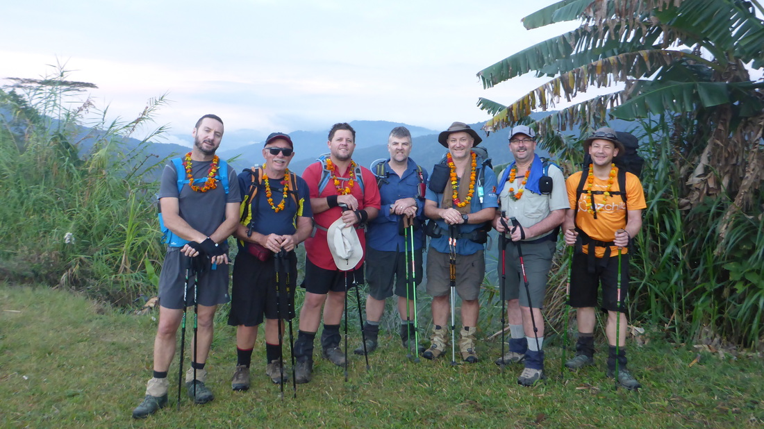 Kokoda Expedition - Group @ Kagi - No Roads