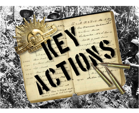 Key Military Actions